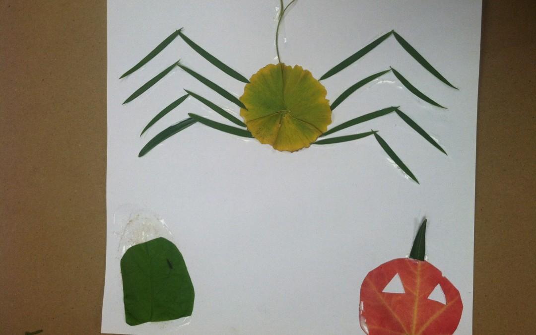 Spider Leaf Art